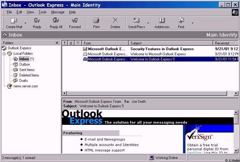 free email programs like outlook express for windows 7