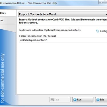 Export Contacts to vCard Alternatives and Similar Software