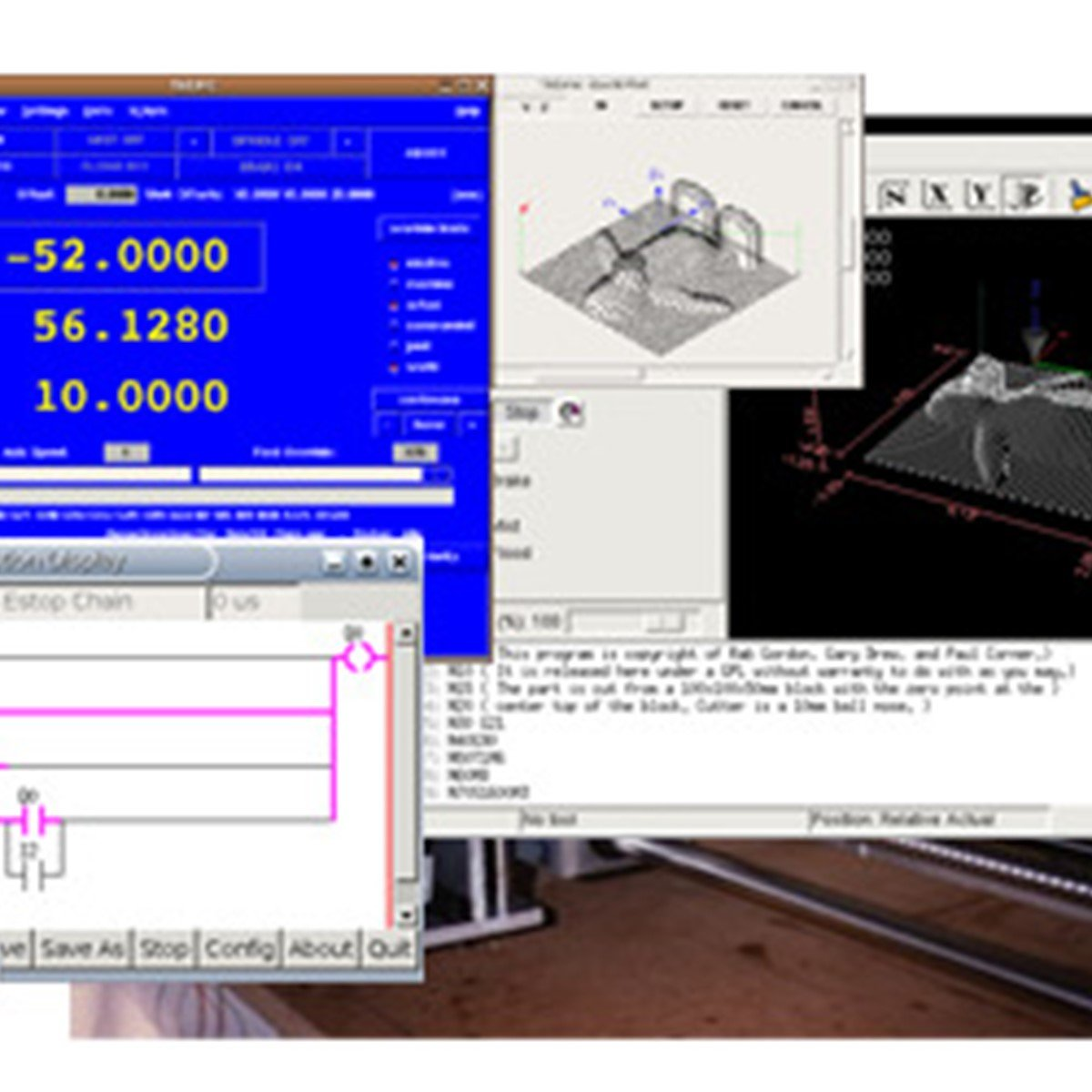 LinuxCNC (the Enhanced Machine Control) Reviews, Features