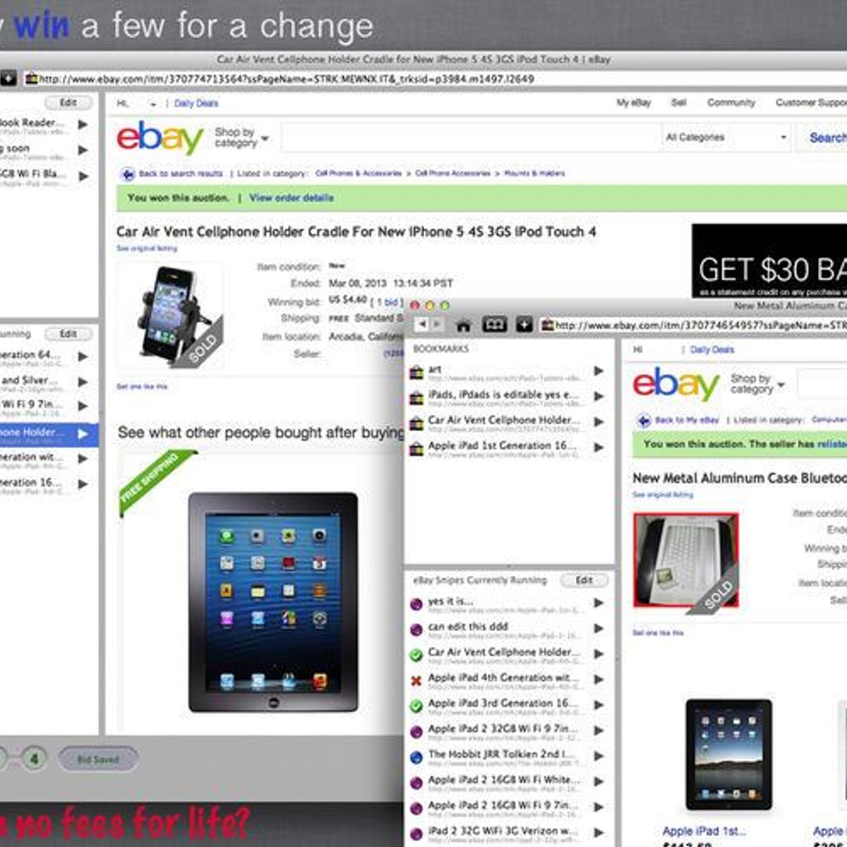 Auction Bidding Sniper For Ebay Alternatives And Similar Software Alternativeto Net