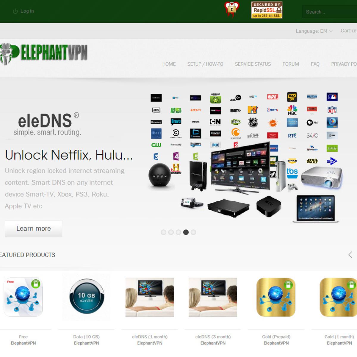 ElephantVPN Alternatives and Similar Software