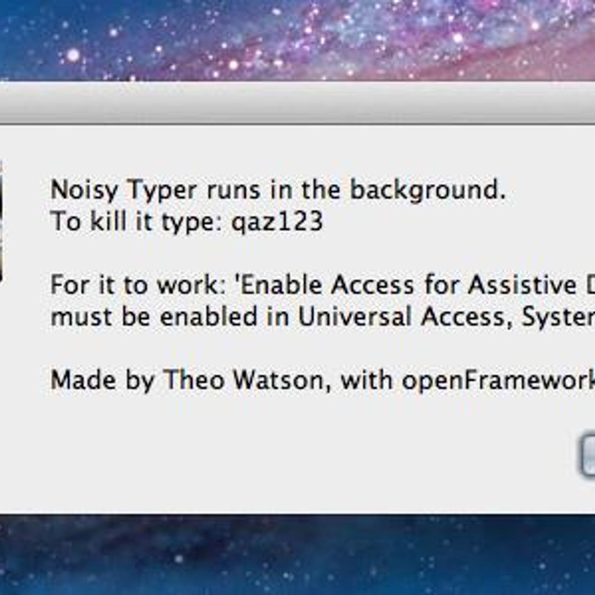 Noisy Typer Alternatives and Similar Software