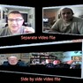 Evaer supports Skype video calls side-by-side, separate files, local-webcam-only and remote-webcam-only mode recording. Up to 10 ways Skype group video recording is supported.