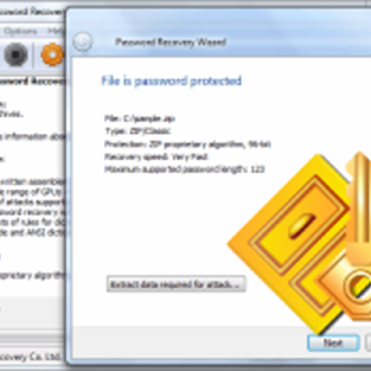 accent zip password recovery registration key