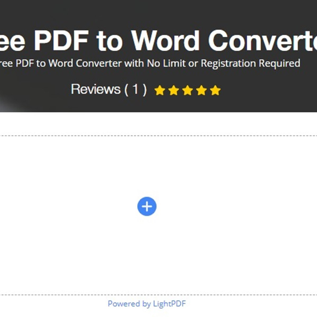 Acethinker Free PDF to Word Converter Alternatives and