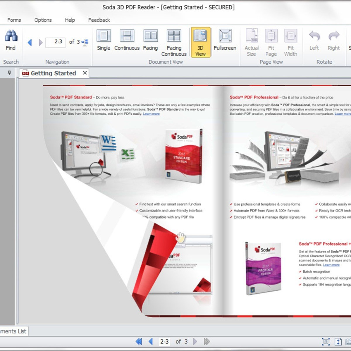 software to read pdf files like a book
