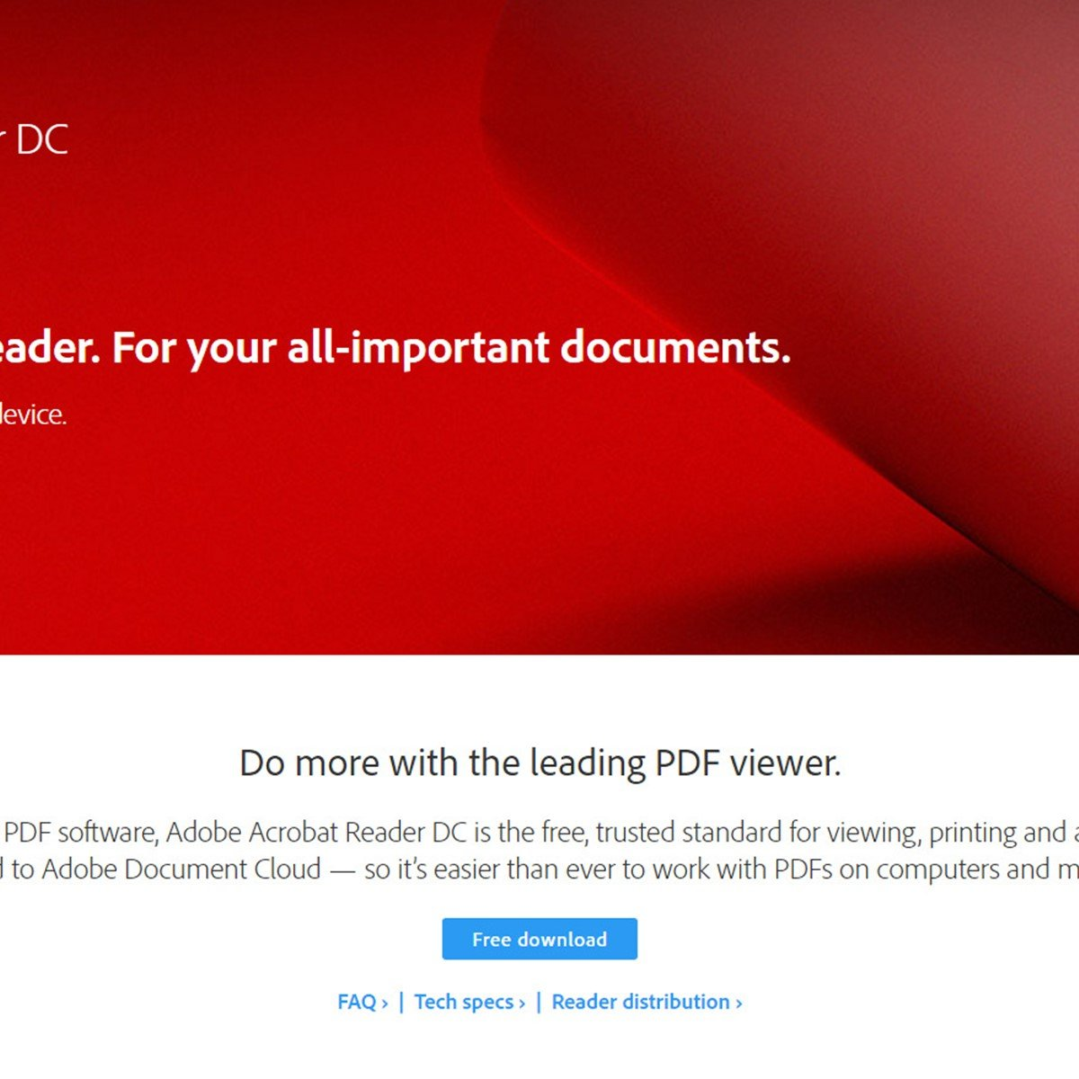 Adobe Acrobat Reader DC Alternatives and Similar Software