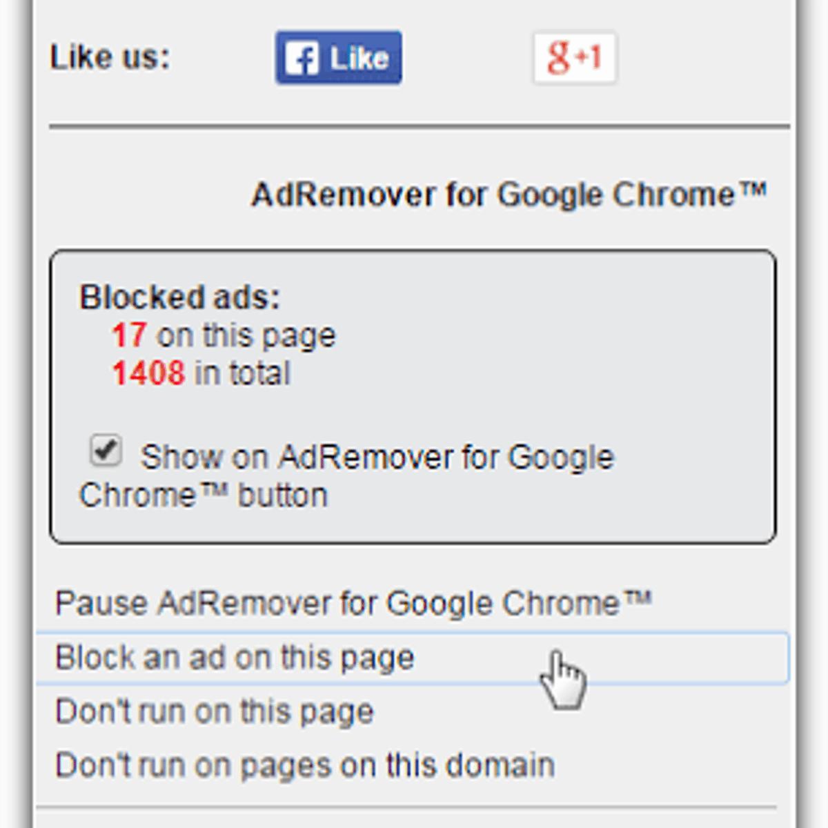 AdRemover for Google Chrome Alternatives and Similar