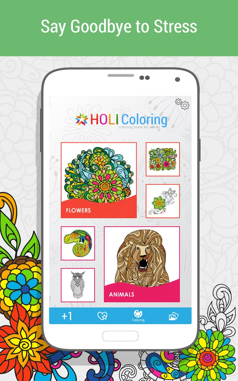 Zen coloring books for adults app - Adult Coloring Book Holi Alternatives And Similar Apps Alternativeto Net