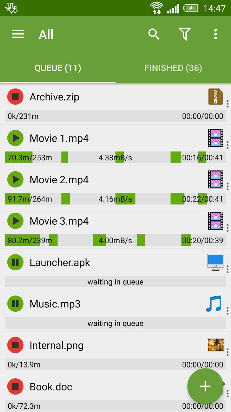 Advanced Download Manager Alternatives and Similar Apps