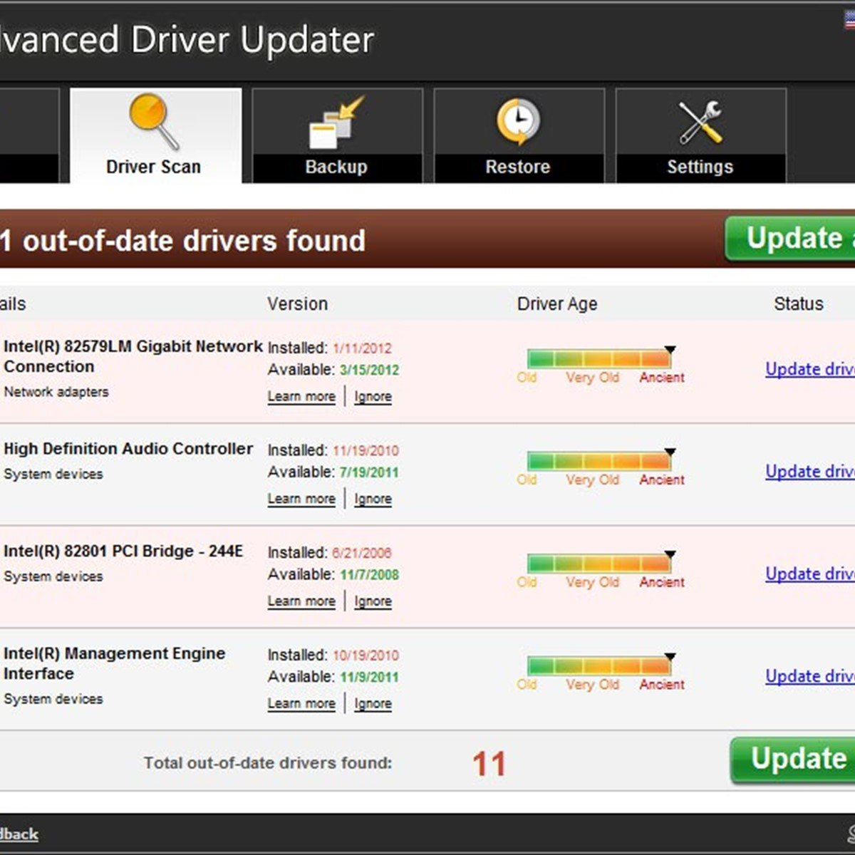 free download advanced driver updater full version