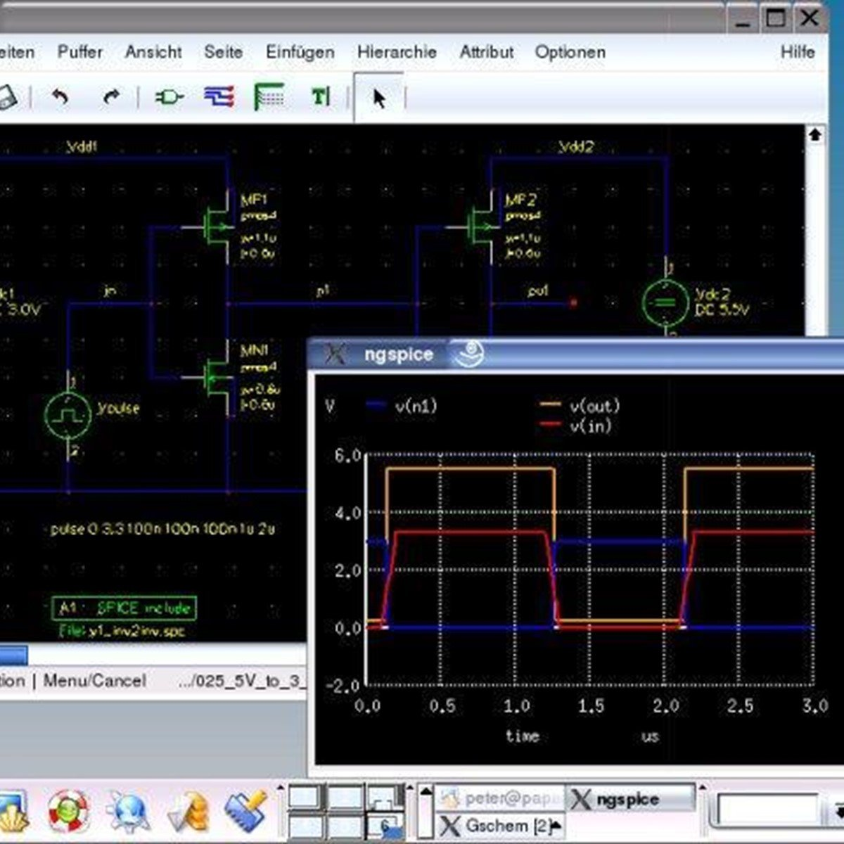 Ngspice Alternatives And Similar Software Your Own Multisim Like Circuit Design Simulation Application