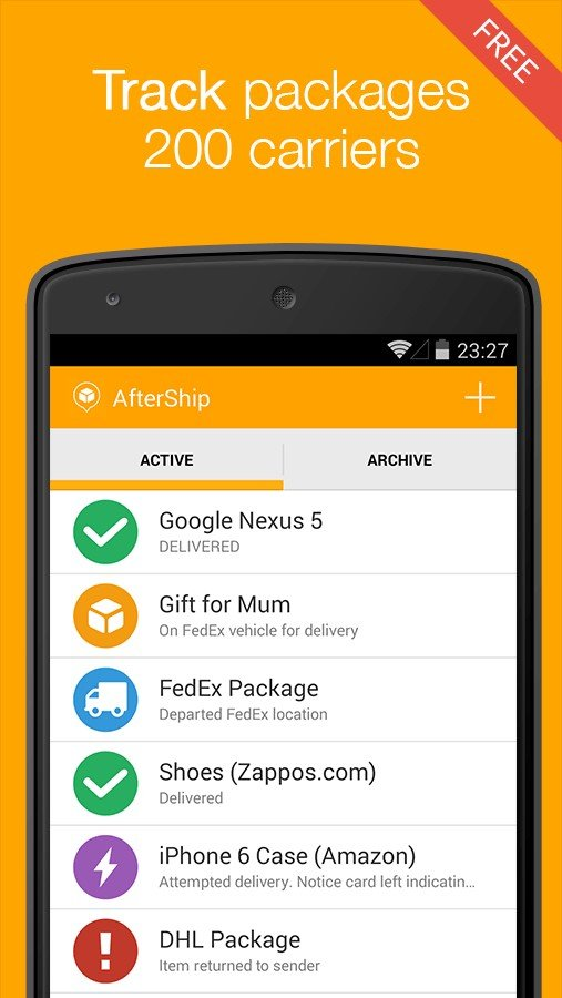 AfterShip Alternatives and Similar Apps and Websites