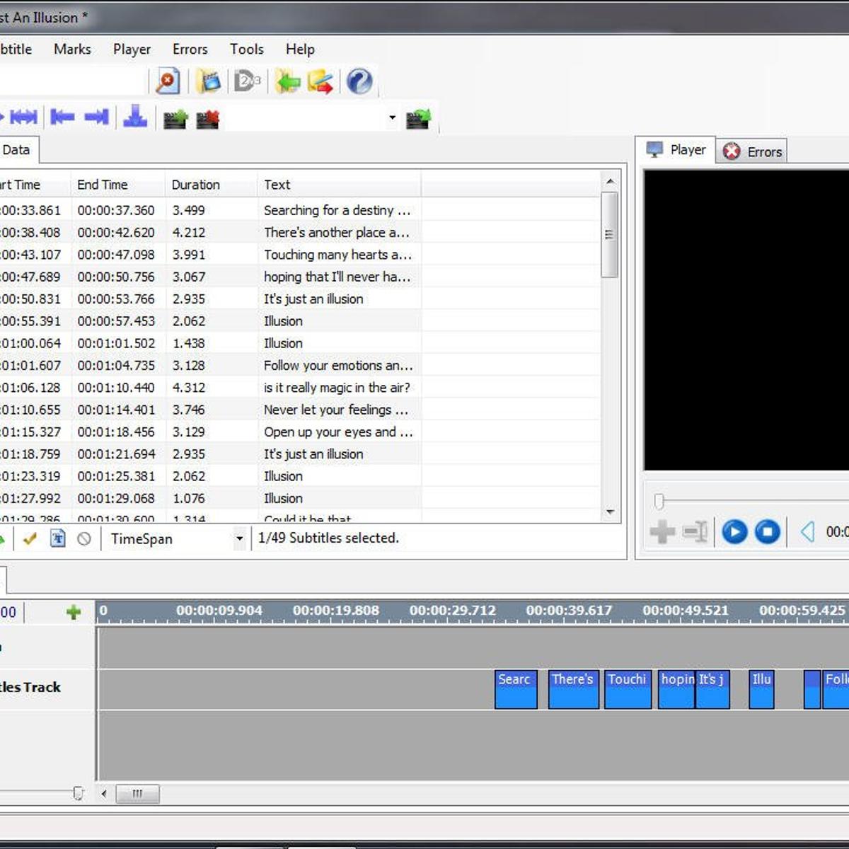 AHD Subtitles Maker Alternatives and Similar Software