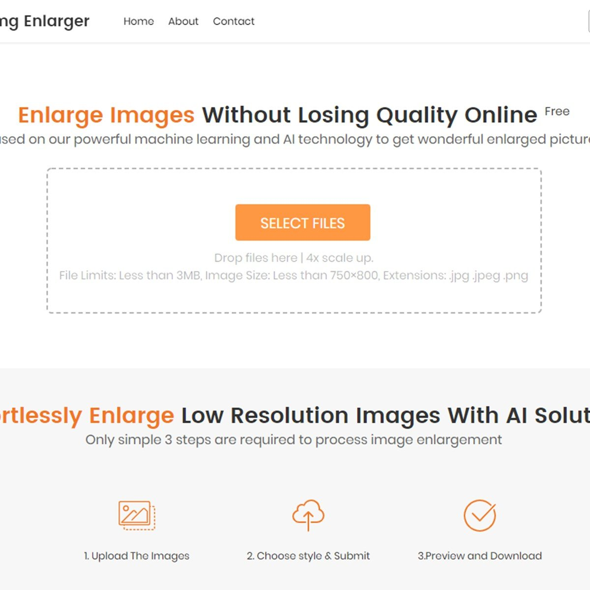 enlarge image without losing quality online free