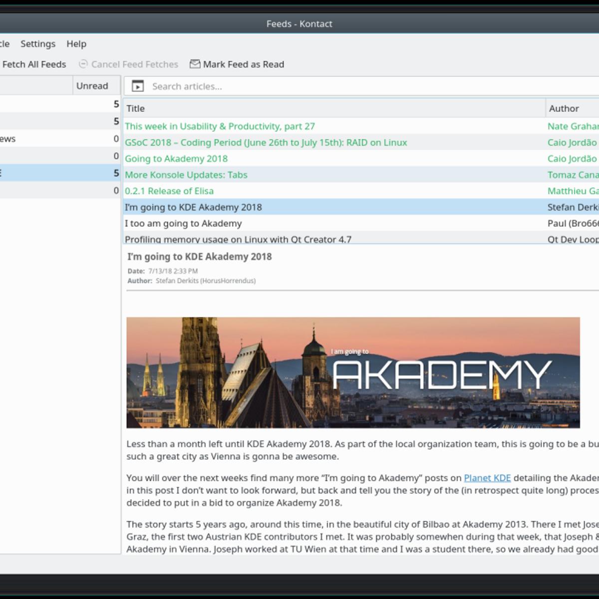 Kontact - Akregator Alternatives and Similar Software