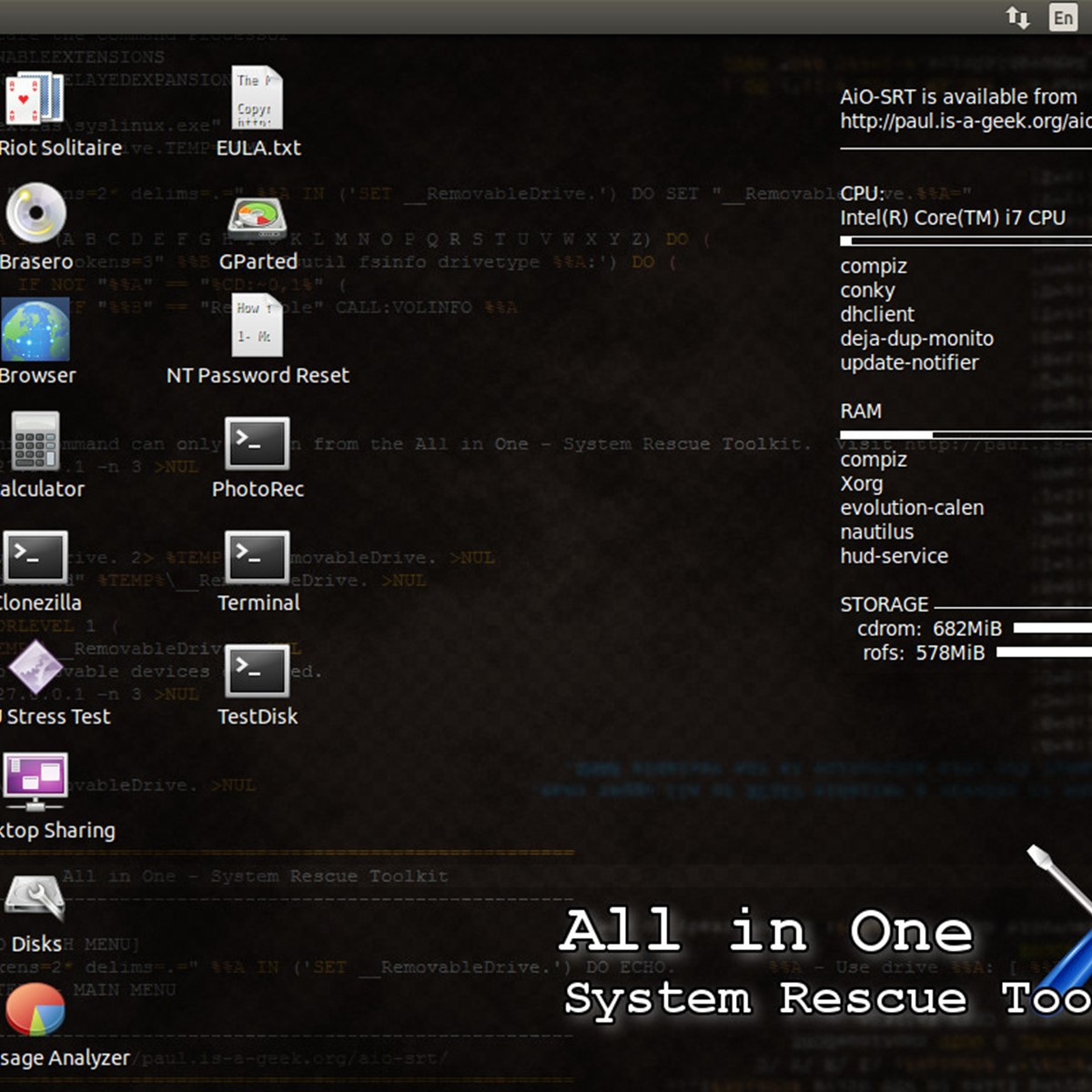 All in One – System Rescue Toolkit Alternatives and Similar