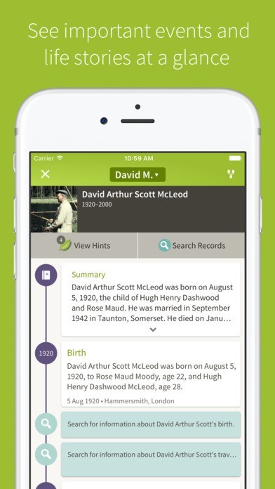 Ancestry Alternatives and Similar Apps and Websites