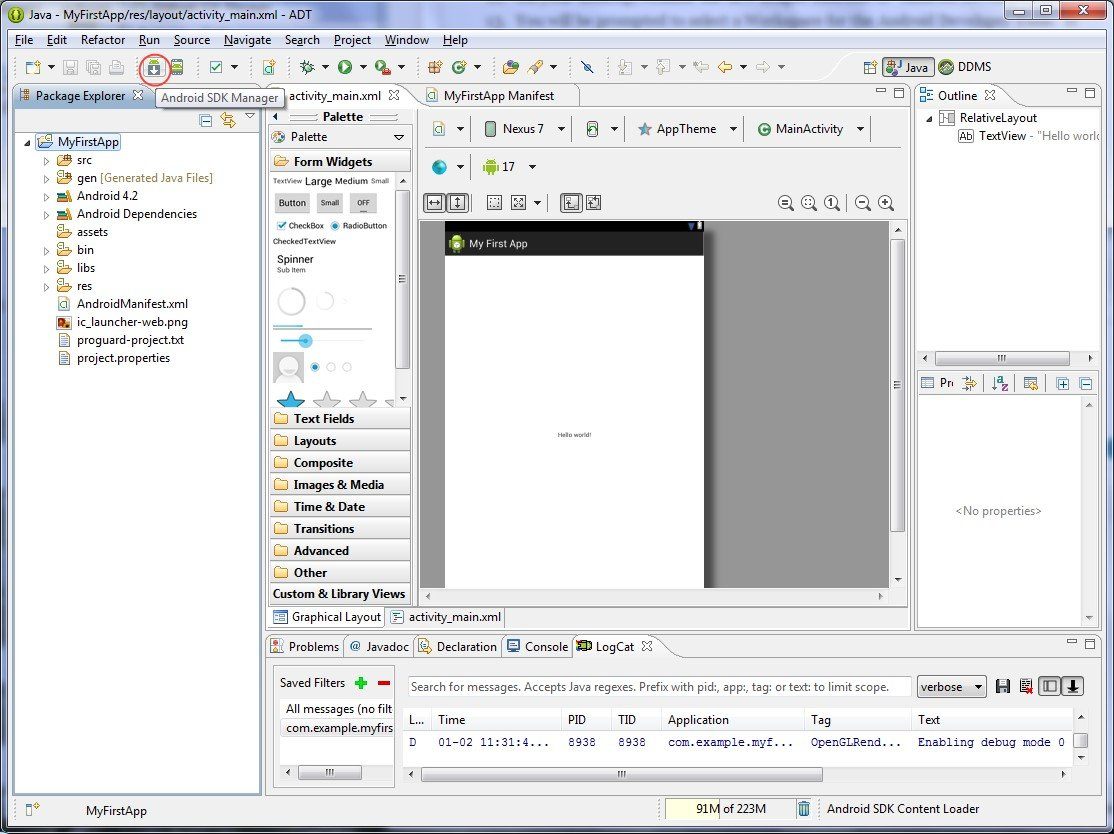 Android Development Tools for Eclipse Alternatives and