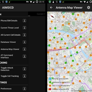 Android IMSI-Catcher Detector Alternatives and Similar Apps