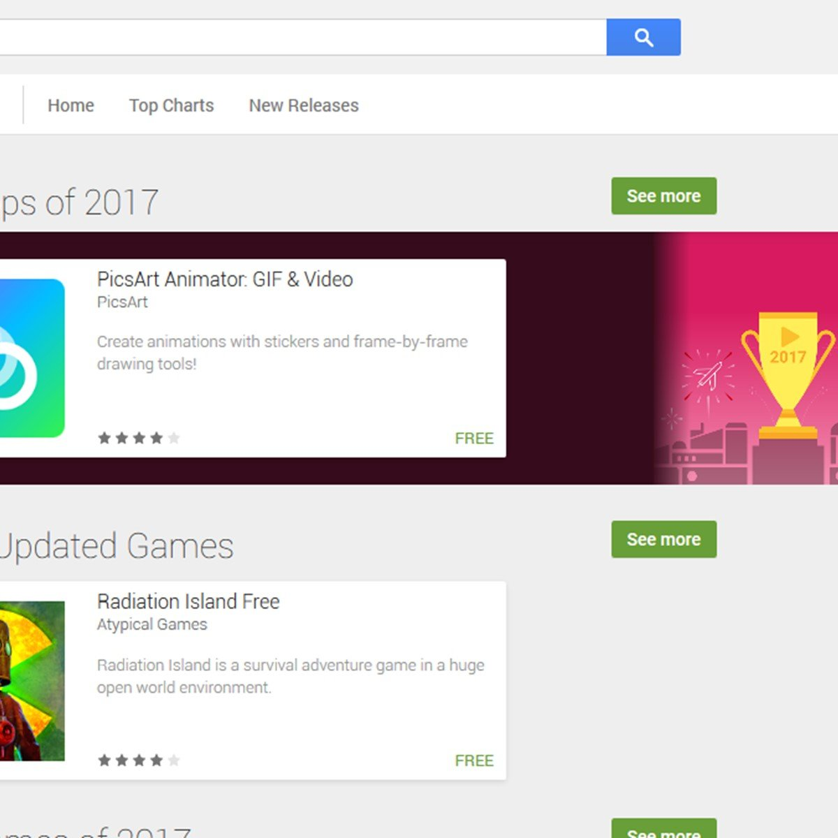 Google Play Store Alternatives and Similar Software