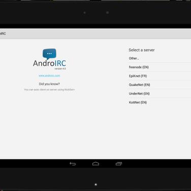 AndroIRC Alternatives and Similar Apps - AlternativeTo net