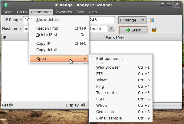 angry ip scanner how to use