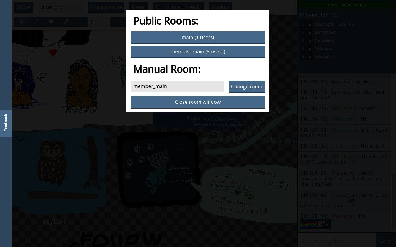 free web based chat room show