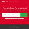 www.anyvideosdownload.com - Tablet Version