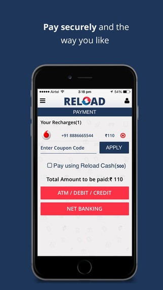 Reload Mobile Recharge & Bill Payments App Alternatives and Similar