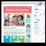 School Newsletter in Apple Pages. icon