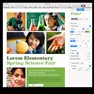 Science fair poster in Apple Pages. icon
