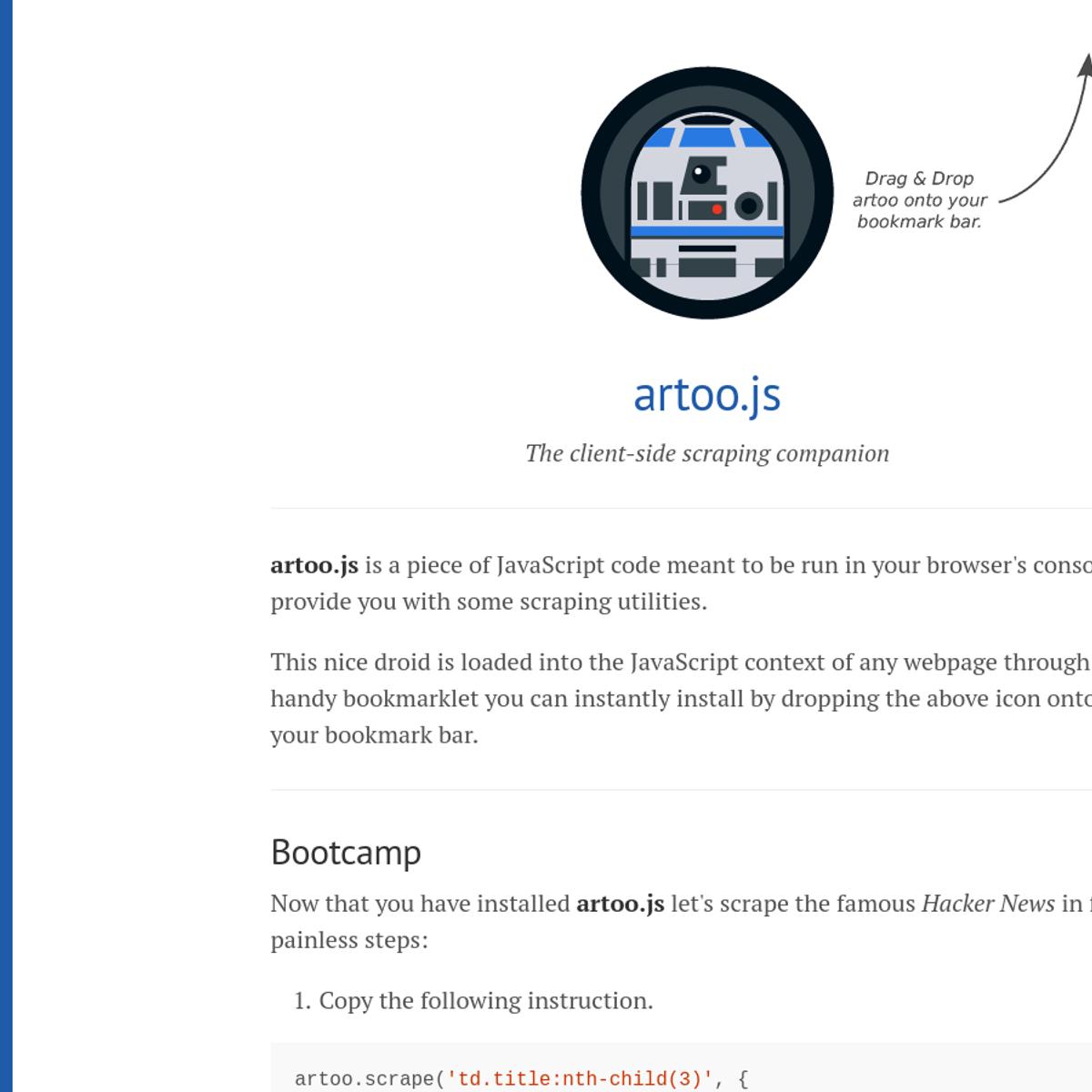 artoo js Alternatives and Similar Software - AlternativeTo net