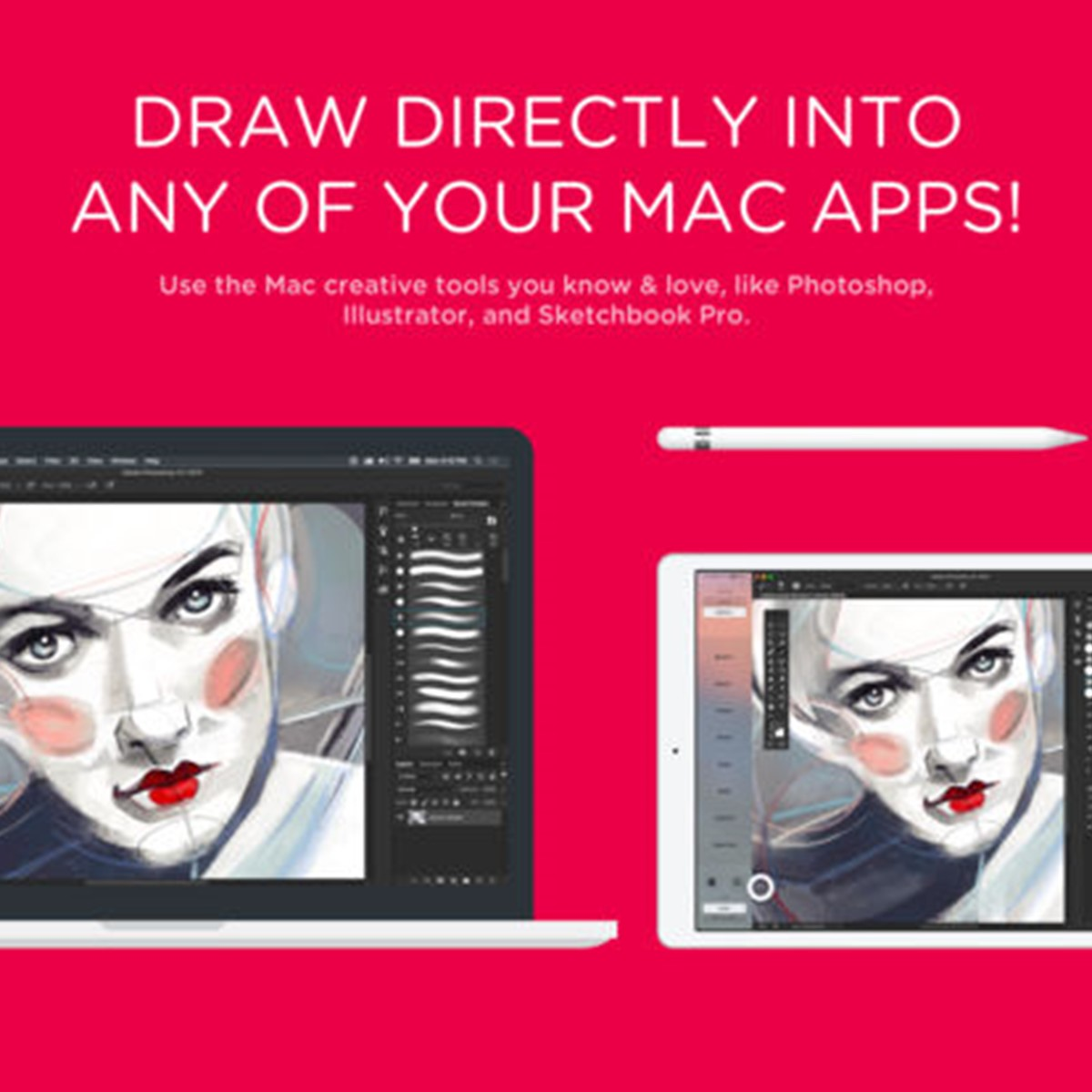 Astropad Drawing Tablet by Astro HQ my studio Mac ipad