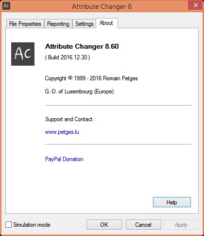 attribute changer portable download