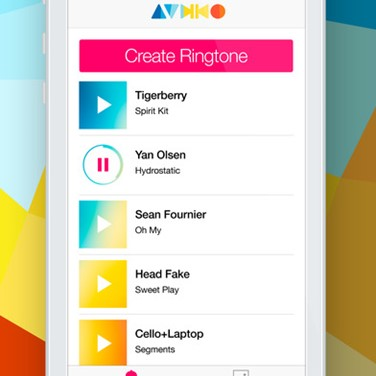 audiko ringtones android app