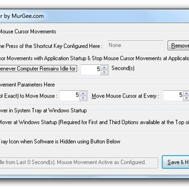 Auto Mouse Mover Alternatives and Similar Software