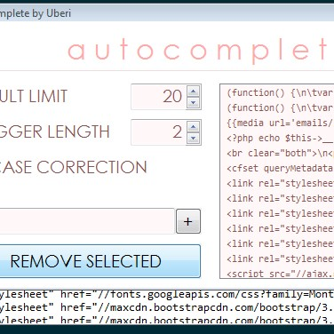 Autocomplete Alternatives and Similar Software
