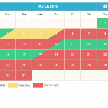 Availability Booking Calendar PHP Alternatives and Similar