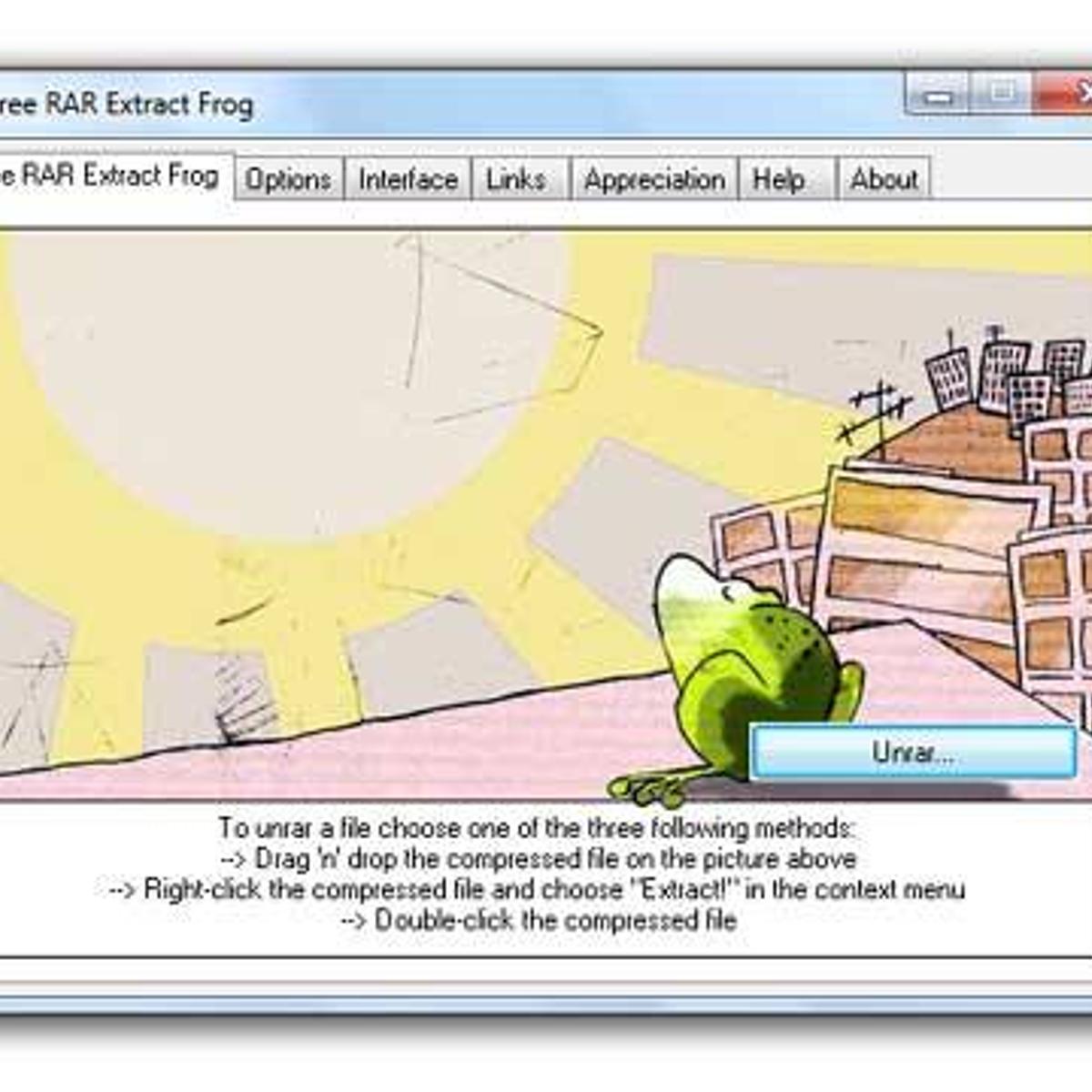 Free RAR Extract Frog Alternatives and Similar Software