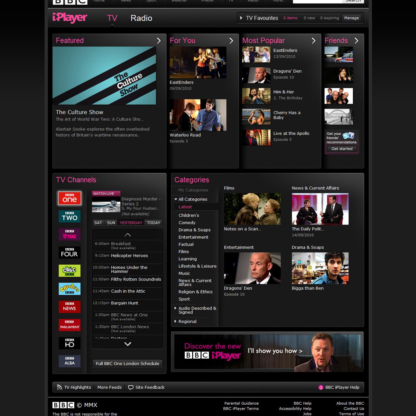 BBC iPlayer Alternatives and Similar Software