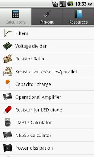 Engineering Calculators and Tools  Electronic Products