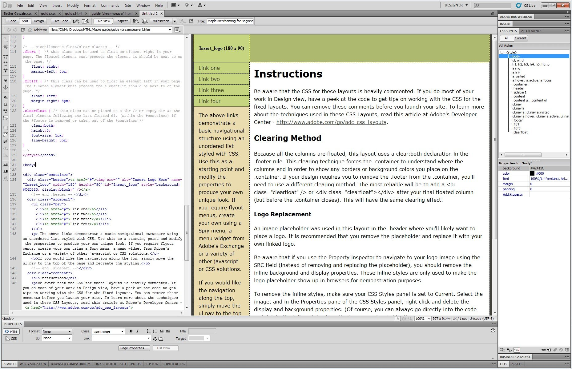 Adobe dreamweaver alternatives and similar software for Dreamweaver app templates