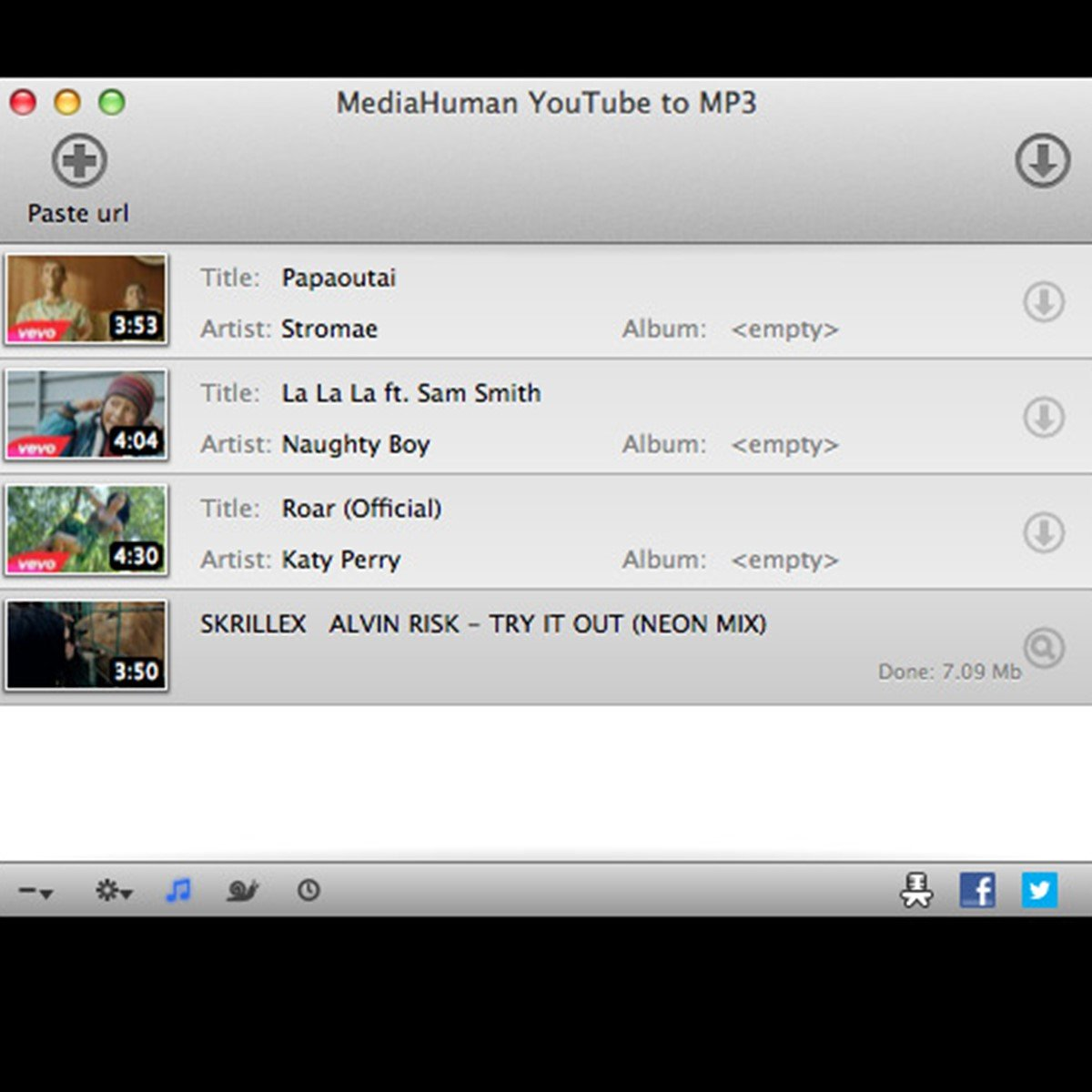 mediahuman youtube to mp3 download softonic