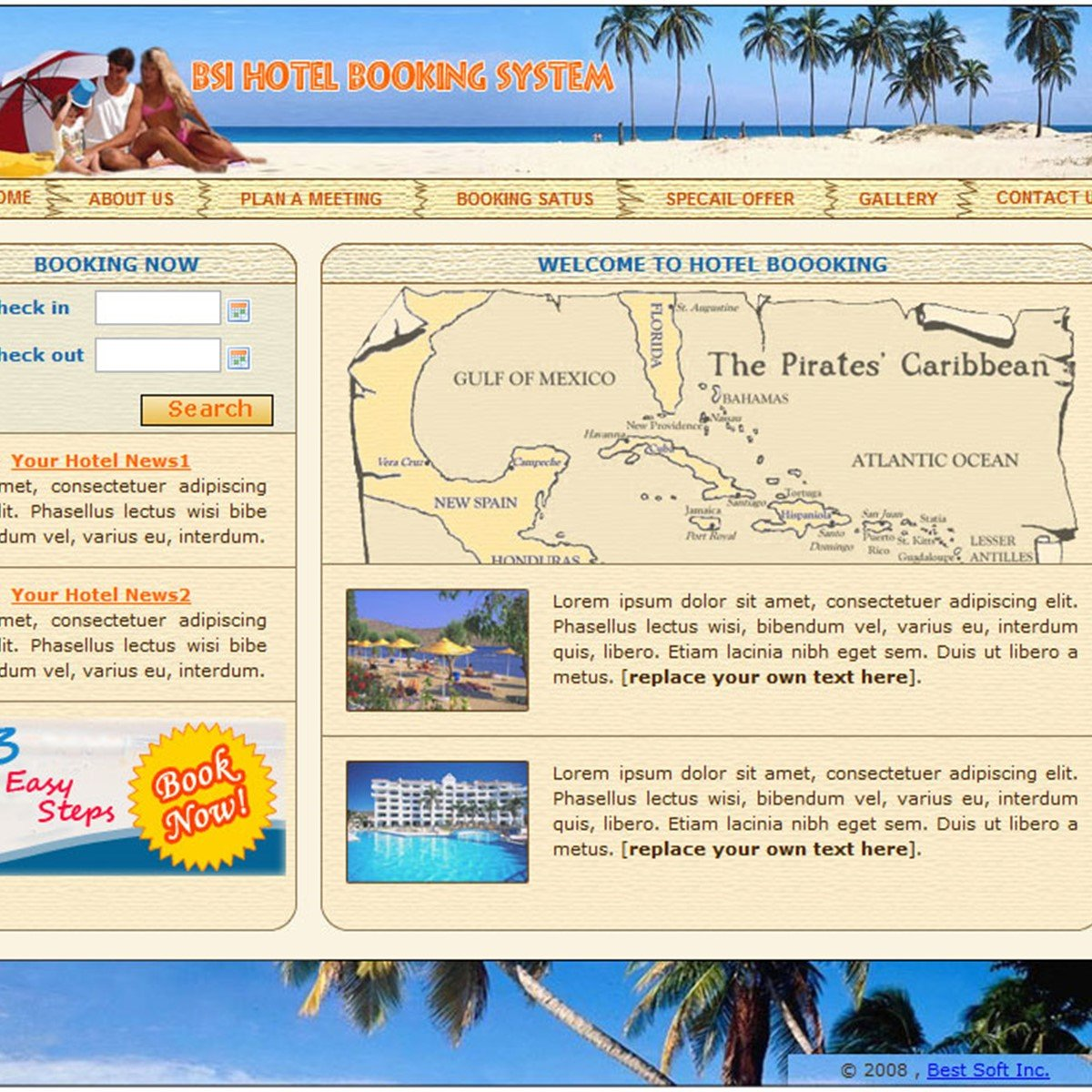 Bsi Hotel Booking Login