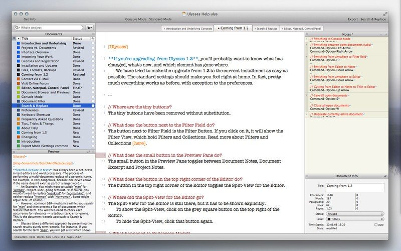 ulysses reviews features and download links alternativeto