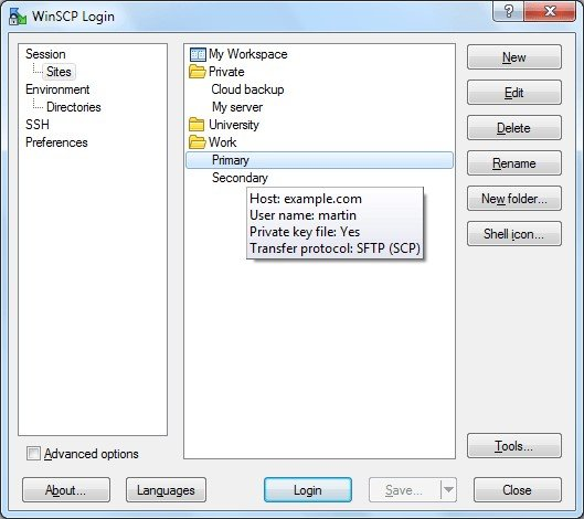 WinSCP Reviews, Features, and Download links - AlternativeTo