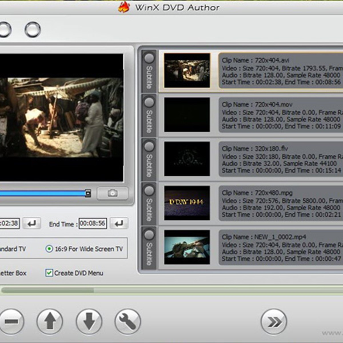 WinX DVD Author Alternatives and Similar Software