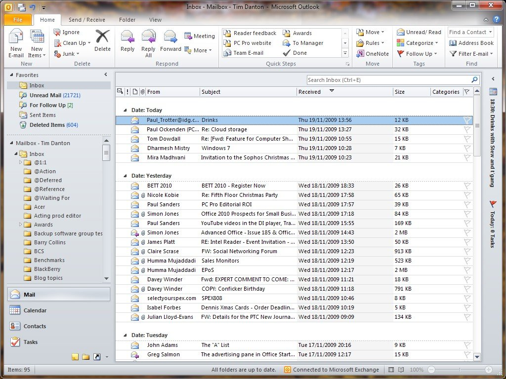 Microsoft Office Outlook Reviews Features And Download Links