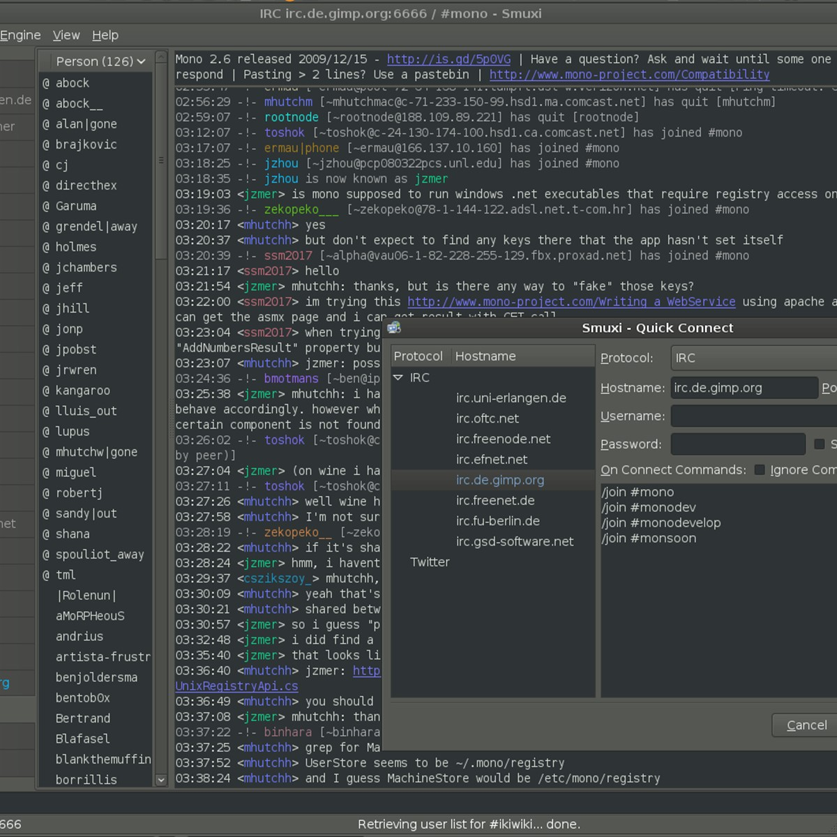 Smuxi Alternatives for Linux - AlternativeTo net